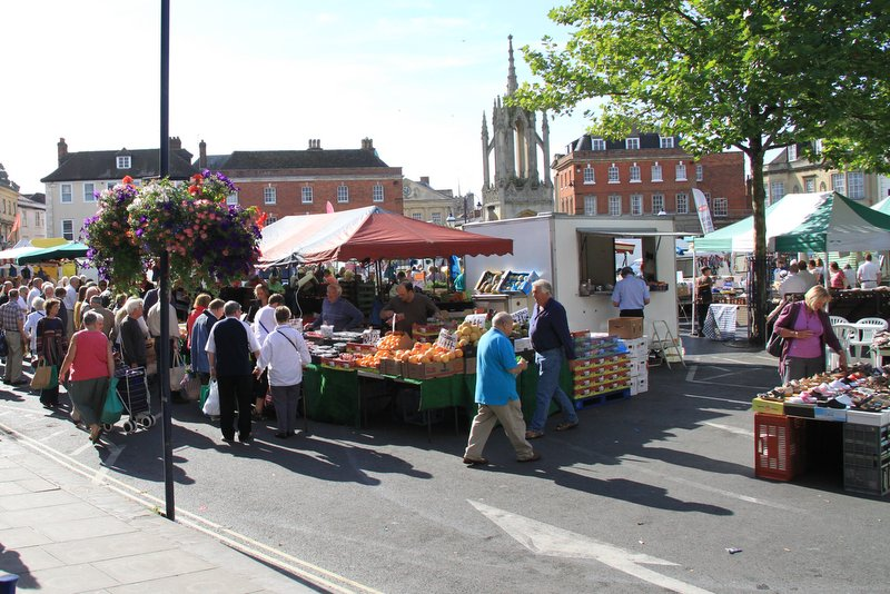 Devizes Market Place by Chris Franklin